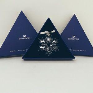 Swarovski Annual Edition Ornament 2018. Snowflake